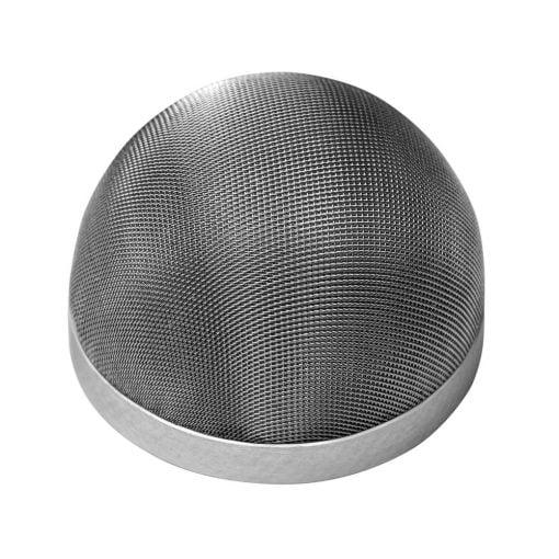 Akustinen verkko äänilähteen suojaamiseen eli grilli.
