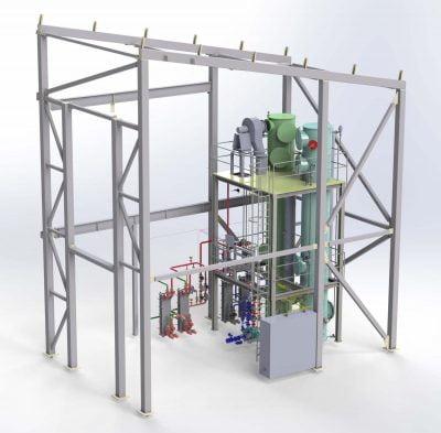 Ammoniakkistripperit, ammoniakin poistoon vedestä laaja ratkaisuvalikoima