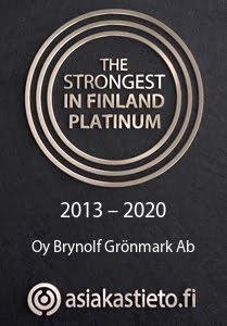 The Strongest in Finland Platinum 2013-2020