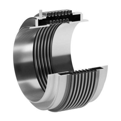 Metallipaljetasaimet vaimentavat ääntä ja estävät lämpöliikkeitä sekä värinöitä vioittamasta putkistoa sekä siihen liitettyjä komponentteja.
